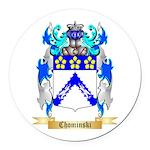 Chominski Round Car Magnet
