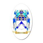 Chominski 20x12 Oval Wall Decal
