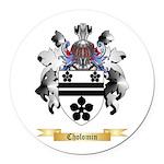 Cholomin Round Car Magnet