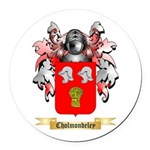 Cholmondeley Round Car Magnet