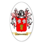Cholmondeley Sticker (Oval 50 pk)