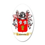 Cholmeley 20x12 Oval Wall Decal