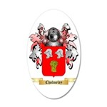 Cholmeley 35x21 Oval Wall Decal