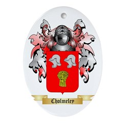 Cholmeley Ornament (Oval)