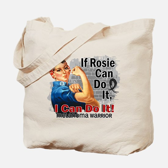 If Rosie Can Do It Melanoma Tote Bag