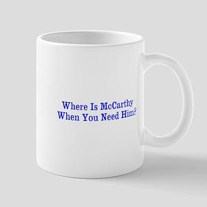 Where Is McCarthy Mug