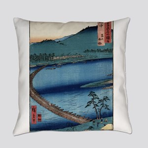 Ecchu - Hiroshige Ando - 1853 - woodcut Everyday P