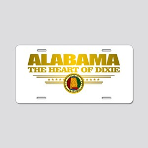 Alabama Pride Aluminum License Plate