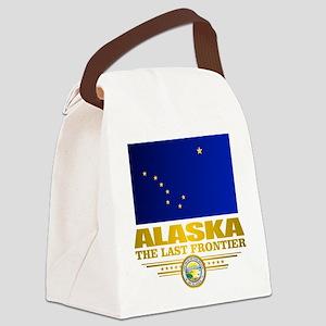 Alaska Pride Canvas Lunch Bag