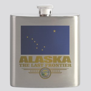 Alaska Pride Flask