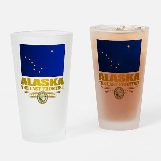 Alaska Pride Drinking Glass
