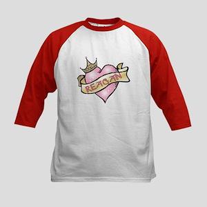 Sweetheart Reagan Custom Princess Kids Baseball Je