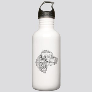 Love Like a Labrador Water Bottle