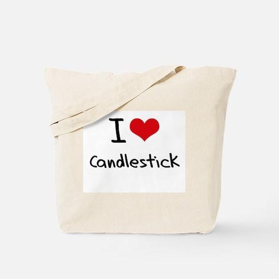 I love Candlestick Tote Bag