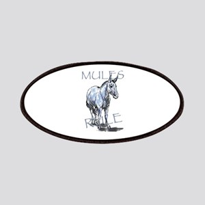 Mules Rule Patches