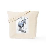 Mule Canvas Tote Bag