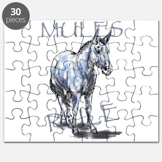 Mules Rule Puzzle