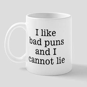 I Like Bad Puns Mug
