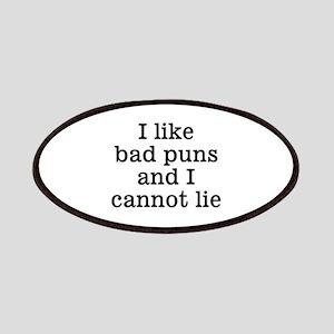 I Like Bad Puns Patches