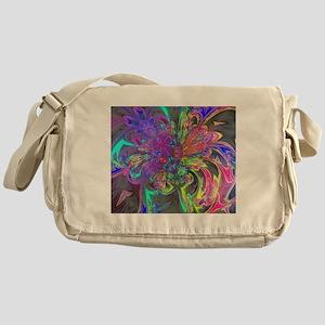 Glowing Burst Color Messenger Bag