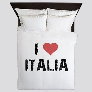 I Love Italia Queen Duvet
