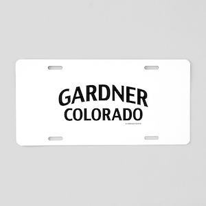 Gardner Colorado Aluminum License Plate