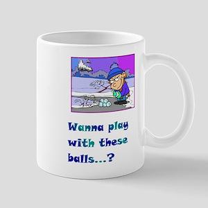 Wannaplaywiththeseballs  Mug