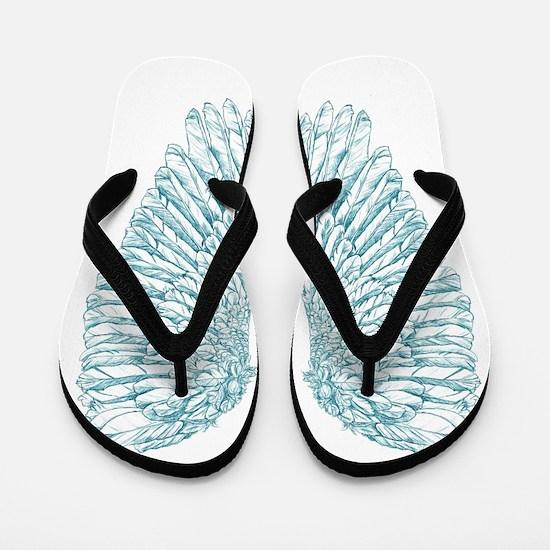 Blue Angel Flip Flops