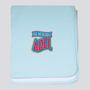 The Incredible Abel baby blanket