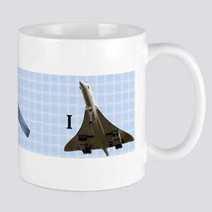 I came, I Saw, I Concorde Mug