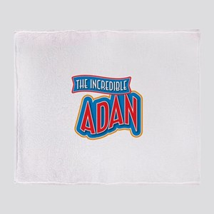 The Incredible Adan Throw Blanket