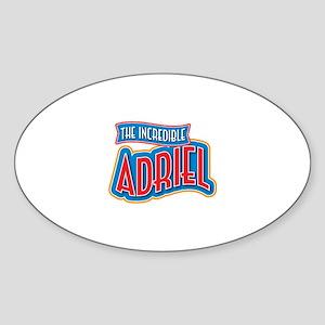 The Incredible Adriel Sticker