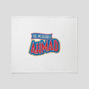 The Incredible Ahmad Throw Blanket