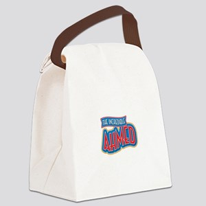 The Incredible Ahmed Canvas Lunch Bag