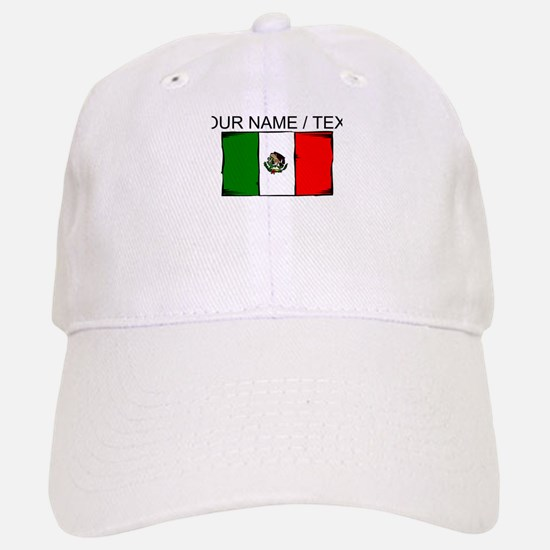Custom Mexico Flag Baseball Cap