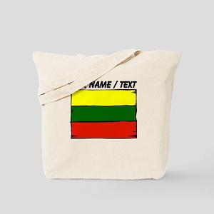 Custom Lithuania Flag Tote Bag