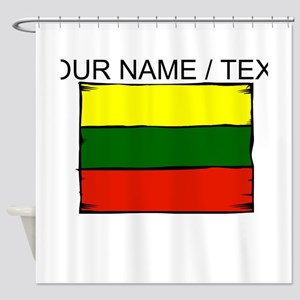 Custom Lithuania Flag Shower Curtain