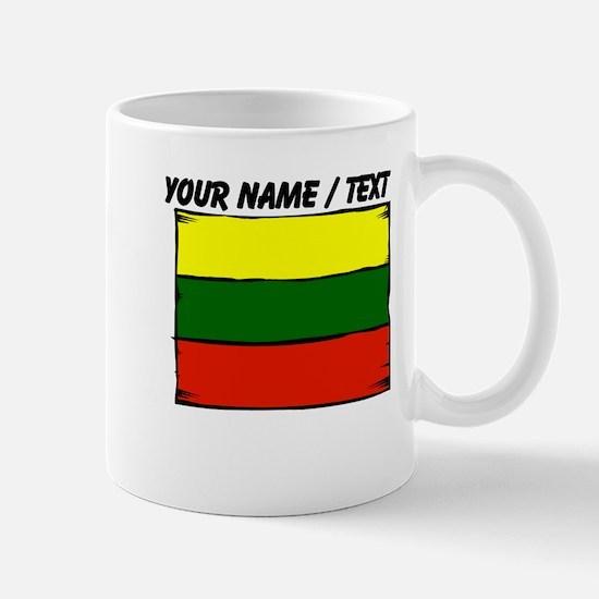 Custom Lithuania Flag Mug
