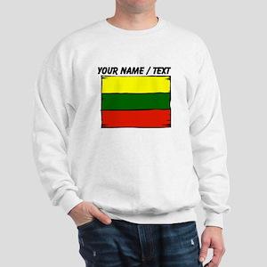 Custom Lithuania Flag Sweatshirt