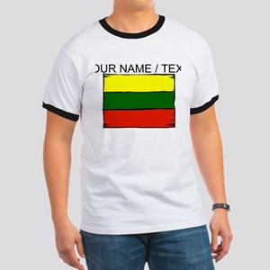 Custom Lithuania Flag T-Shirt