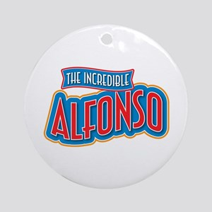 The Incredible Alfonso Ornament (Round)