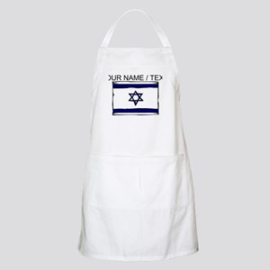 Custom Israel Flag Apron