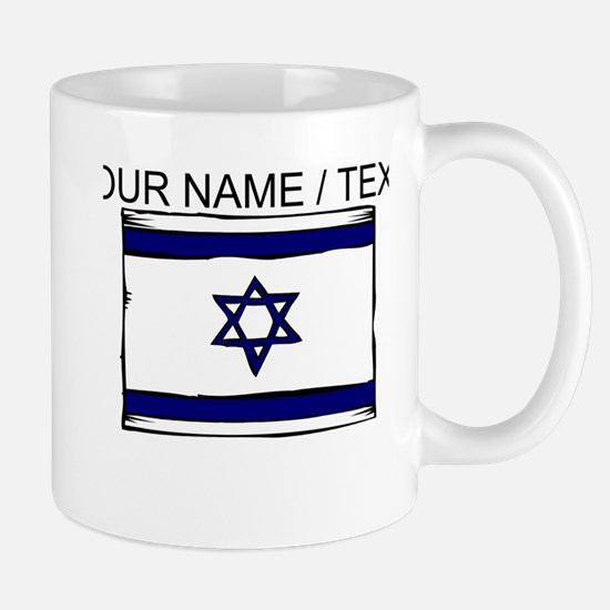 Custom Israel Flag Mug