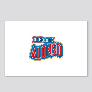 The Incredible Alonso Postcards (Package of 8)