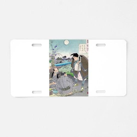 Matsuo Basho - Yoshitoshi Taiso - 188- - woodcut A