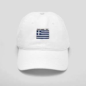 Custom Greece Flag Baseball Cap
