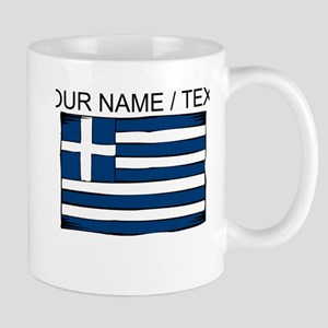 Custom Greece Flag Mug