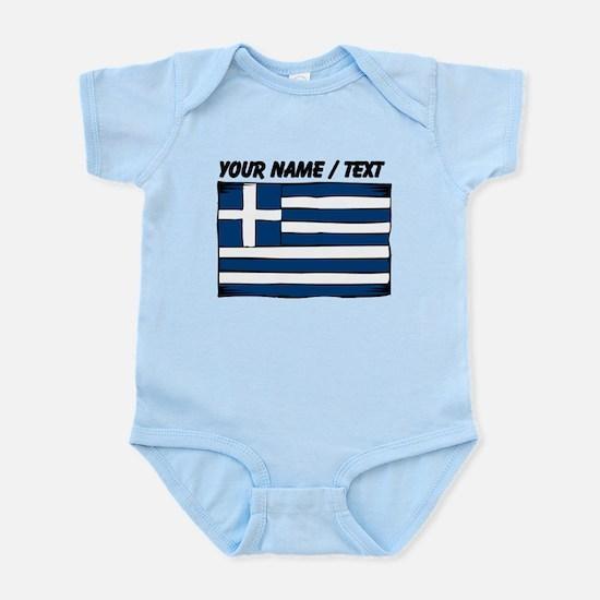 Custom Greece Flag Body Suit