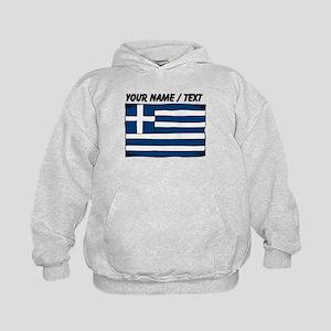 Custom Greece Flag Hoodie