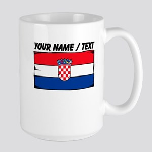 Custom Croatia Flag Mug